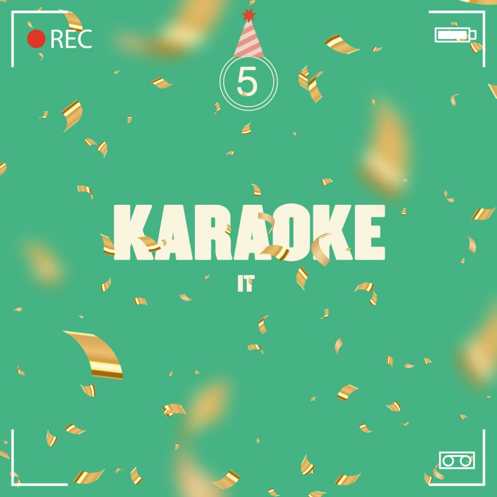 Birthday video tip 5: Karaoke