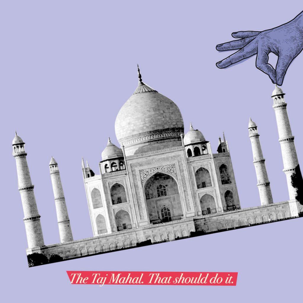 The Taj Mahal - Anniversary Gifts