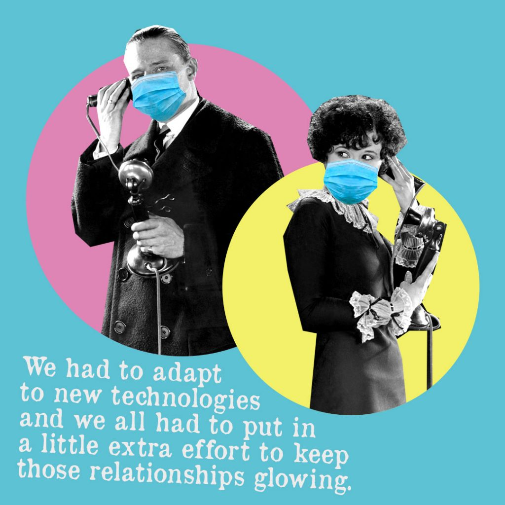 new technologies - long distance relationships