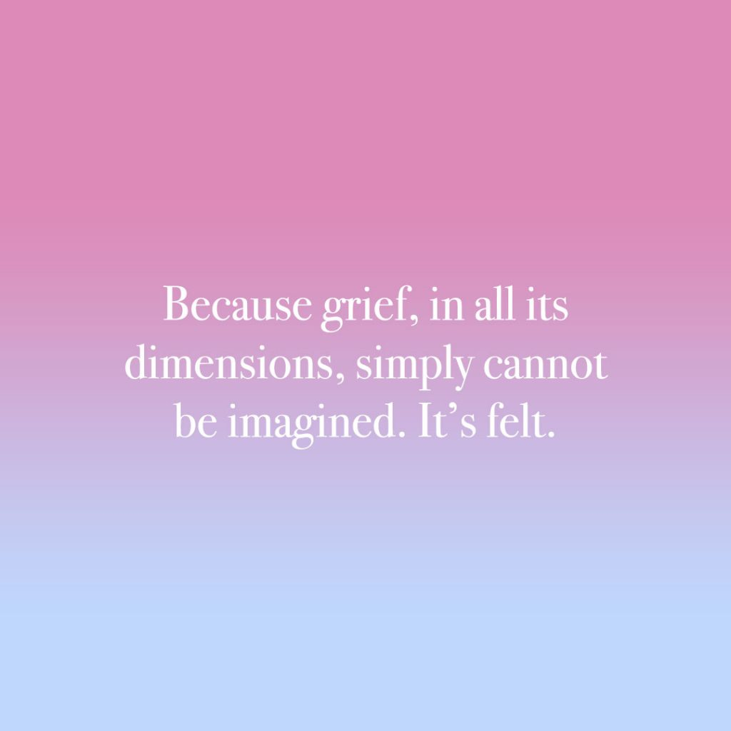 Grief is felt - Memorial Tribute Video