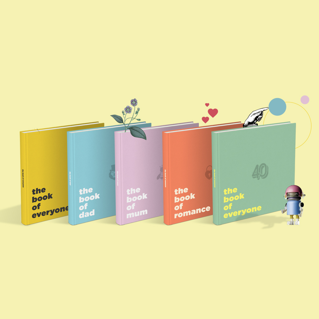 Book of Everyone - Gifts Personalised