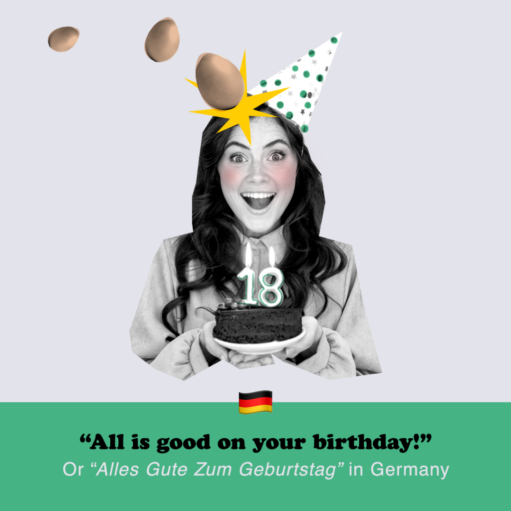 All is good on your birthday