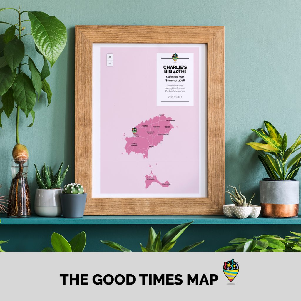 Good times Map Party
