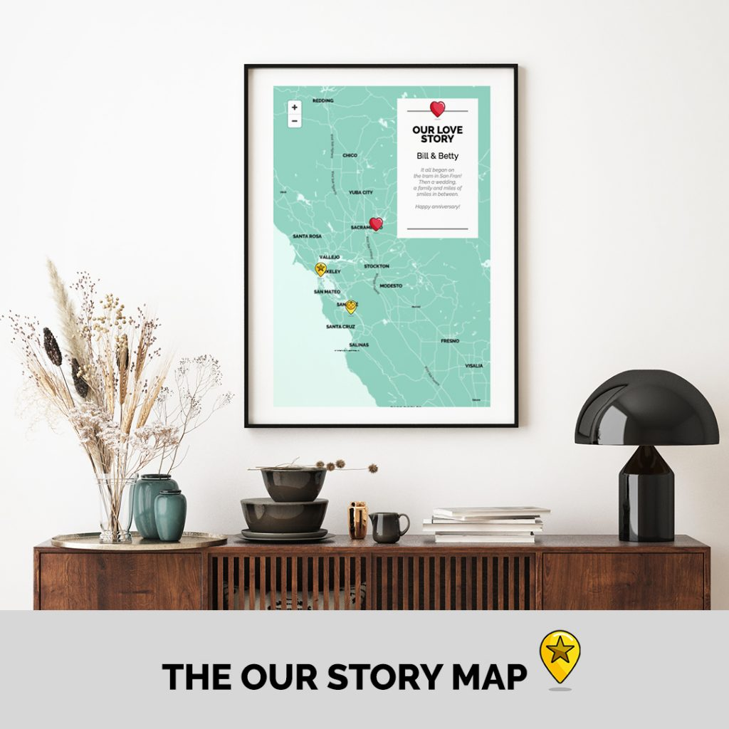Our Love Story Map
