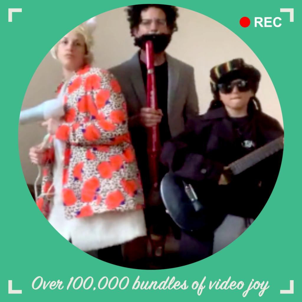 over 10000 bundles of video joy