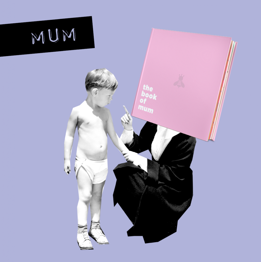 Mum mom the book of everyone kid gift for her