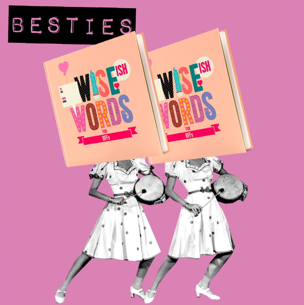 besties best friend bff wise words gifts for her