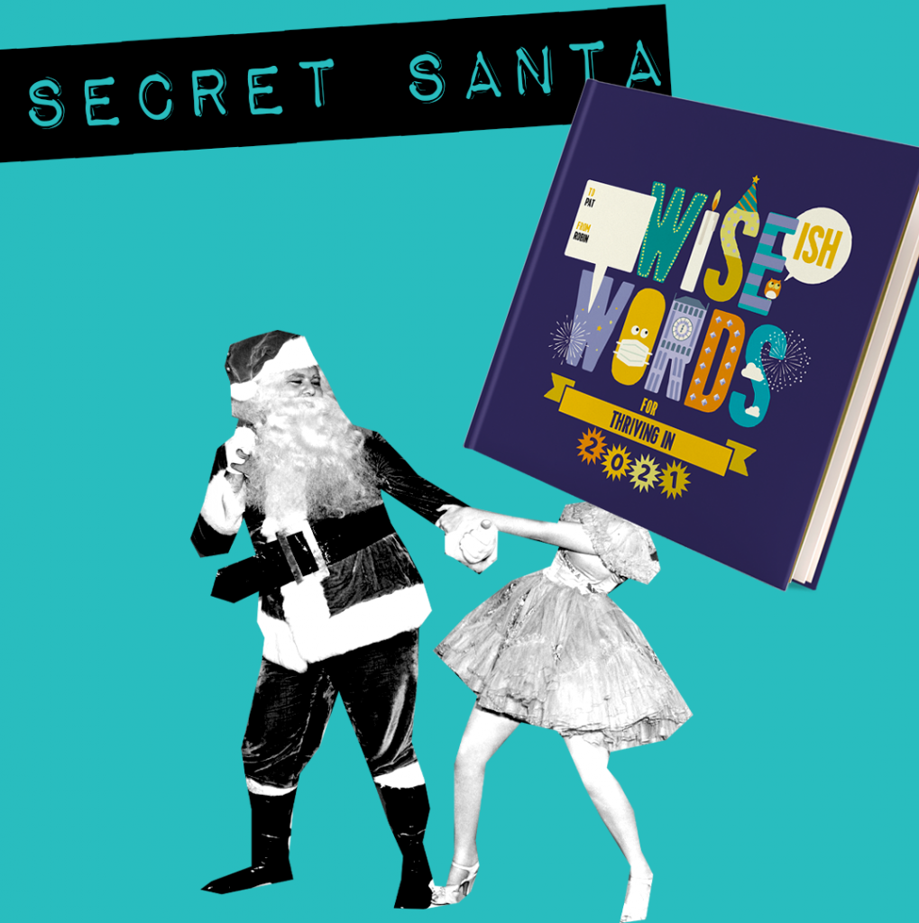 secret santa white elephant  wise words thriving in 2021 santa Claus