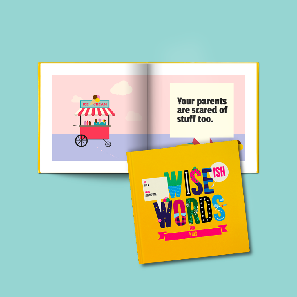 the little ones and not so little ones kids wise words book gifts