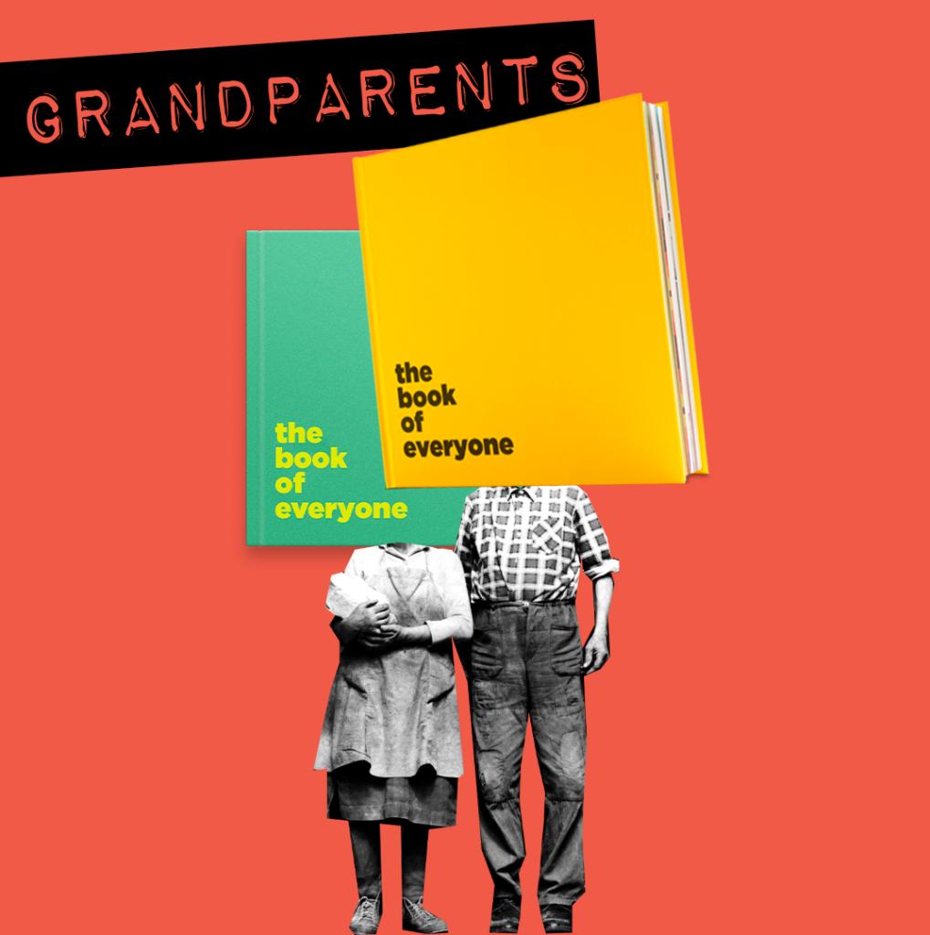 grandparents grandma grandpa book of everyone gifts