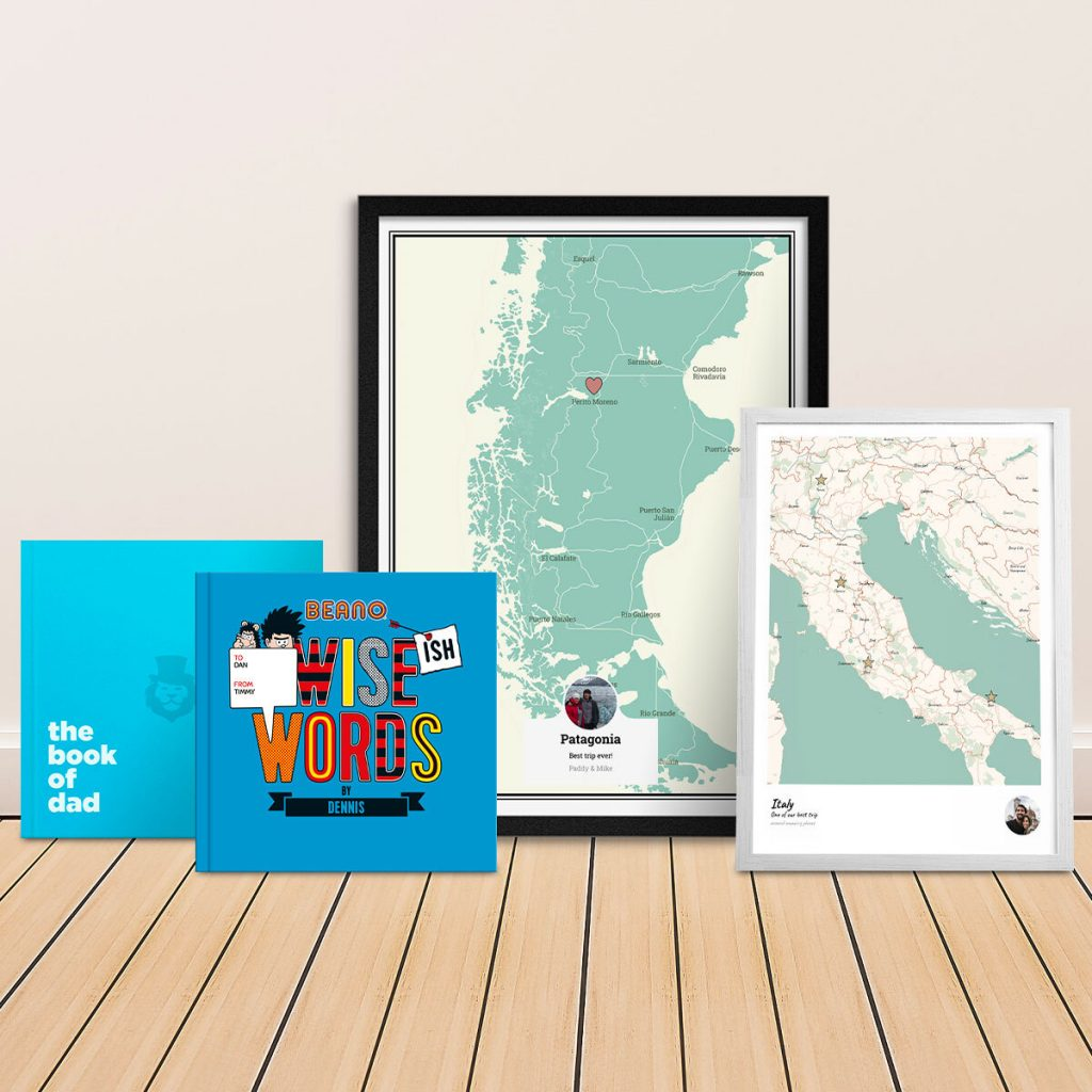 fathers day gifts book map dad