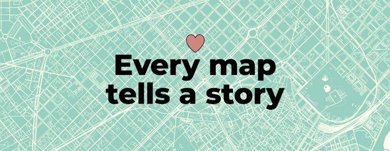 every map tells a story bucket list memories