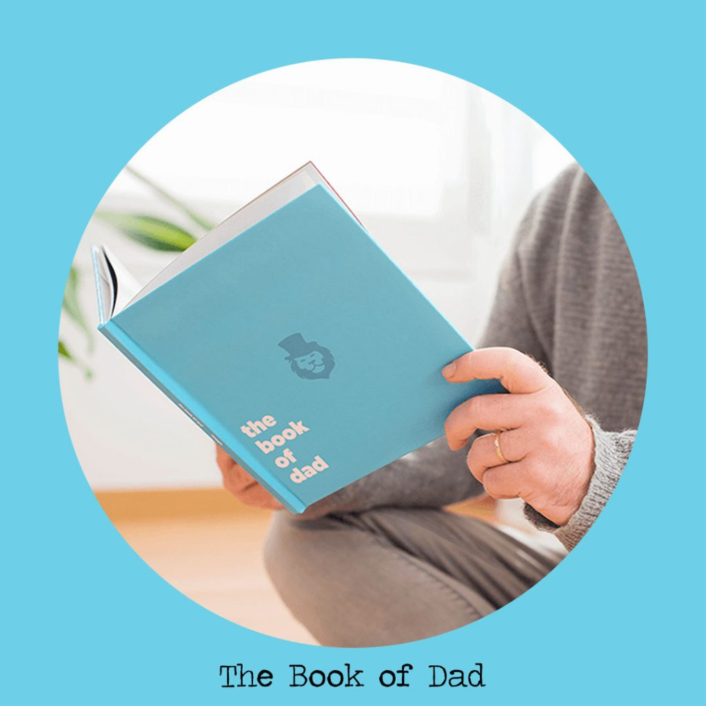 book of dad personalised books