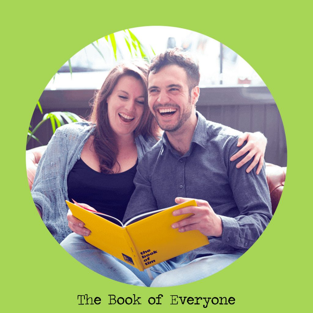 the book of everyone personalised books