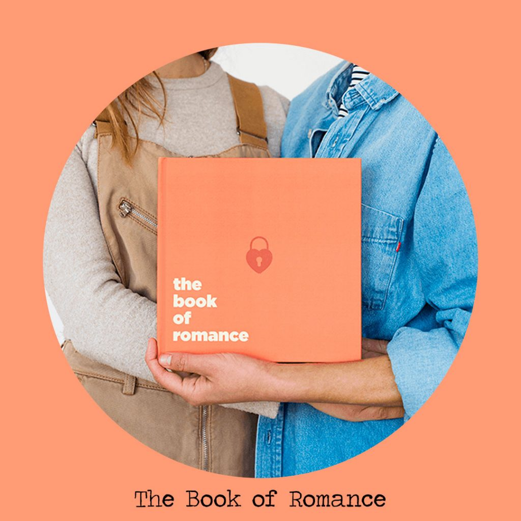 the book of romance personalised book