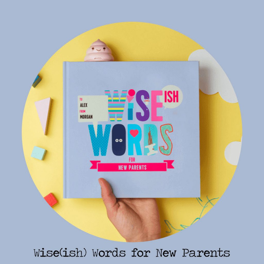 wiseish words for new parents personalised books