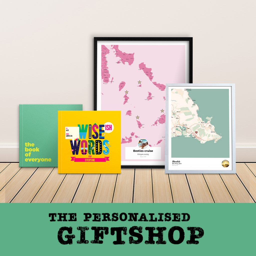 the personalised giftshop
