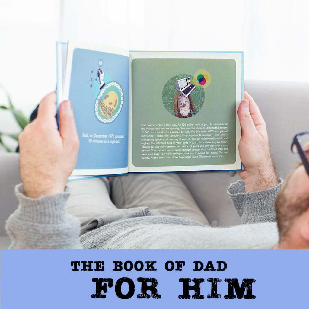 the book of dad for him