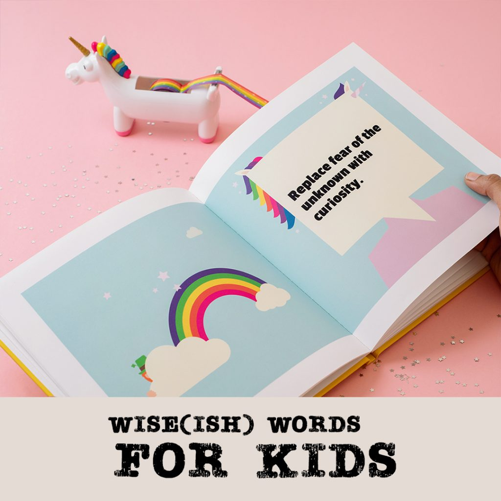 wise words for kids  personalised gifts