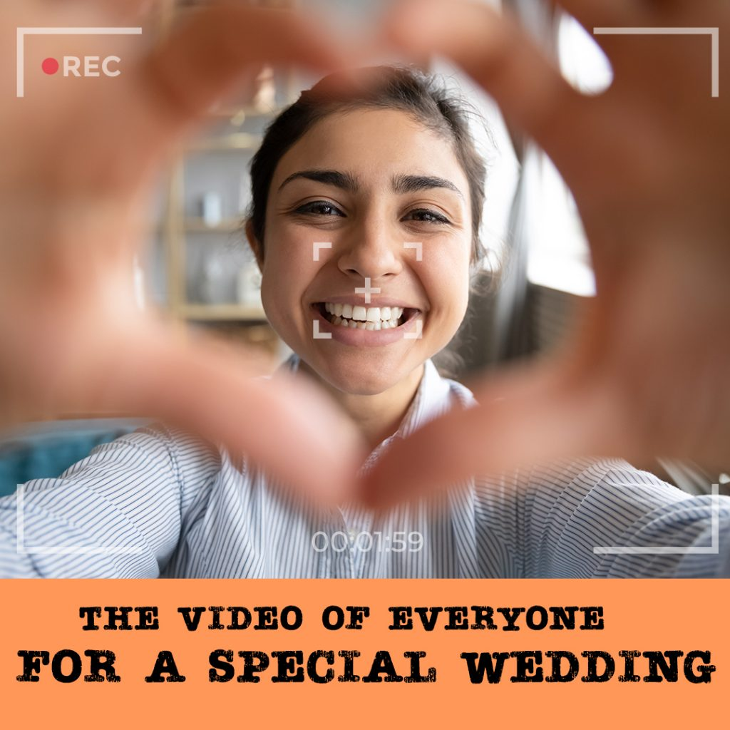 the video of everyone for a special wedding