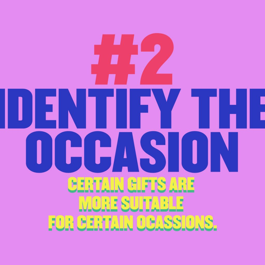 how to find gifts for her identify the occasion certain gifts are more suitable for certain ocassions