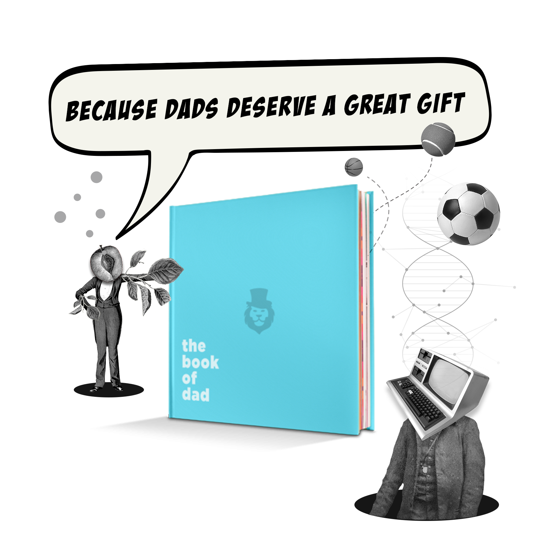 personalised book for your dad